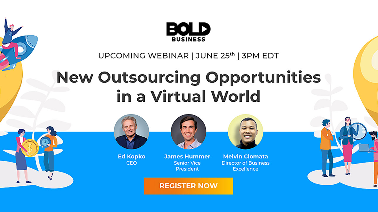 New Outsourcing Opportunities in a Virtual World Webinar
